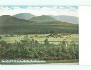 Unused Pre-1907 VIEW FROM RAVINE HOUSE Randolph New Hampshire NH n5101