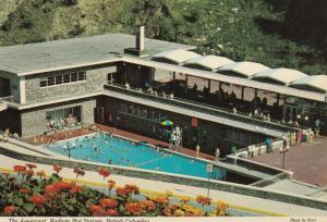 RADIUM HOT SPRINGS , B.C. , 50-70s ; Aquacourt