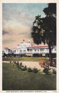 SARASOTA, Florida, 1910-1930s; Mira Mar Hotel And Apartments