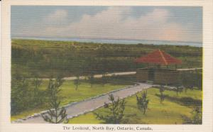 The Lookout , NORTH BAY , Ontario , Canada , 1930s