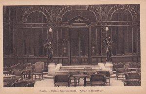 PARIS, France, 1900-1910's; Hotel Continental, Cour D'Honneur