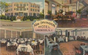 LAKEWOOD , New Jersey, 1945 ; New Irvington Hotel