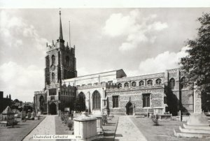 Essex Postcard - Chelmsford Cathedral - Real Photograph - Ref TZ3837