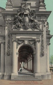 LONDON , England , 1908 ; Colonnade, Palace of Music, Franco-British Exhibition