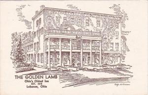 Ohio Lebanon The Golden Lamb Ohio's Oldest Inn Established 1815