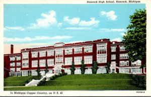 Michigan Hancock High School Curteich