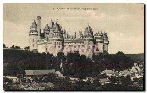 Old Postcard Chateau de Pierrefonds East Coast