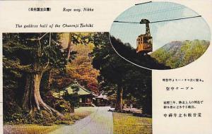 The Goddess Hall Of The Chuzenji Tachiki, Rope Way, Nikko, Japan, 1920-1930s