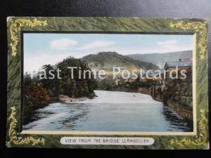 Vintage PC - Llangollen, View from the Bridge
