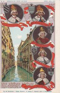 Kings,Venezia Ed I Suoi Izo Dogi,Rio Del Santissimo-Palazzo Morosini,Venezia,...