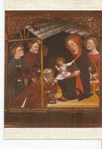 Postal 035308 : Fragmento de Predela del Retablo del salvador de Alsina ribel...