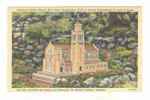 Replica of Abbey Church, St. Bernard College, Alabama, 30-40s