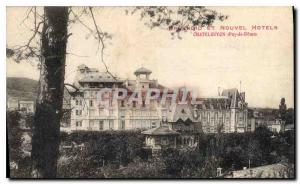 Postcard Old and New Splendid Hotels Chatelguyon Puy de Dome