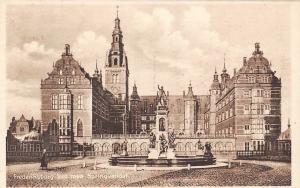 Denmark, Hillerod, Frederiksborg Slot med Springvandet, Castle, Postcard