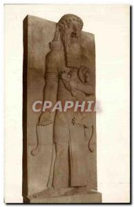 Old Postcard The Louvre & # 39etouffeur Lions