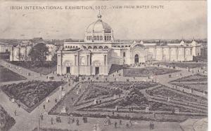 WATER CHUTE, DUBLIN , Ireland , PU-1907, Irish International Exhibition