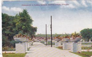 Illinois Chicago Promenade In Floral Garden Garfield Park