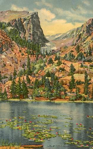 CO - Nymph (Lilypad) Lake & Hallett Peak, Rocky Mountain National Park