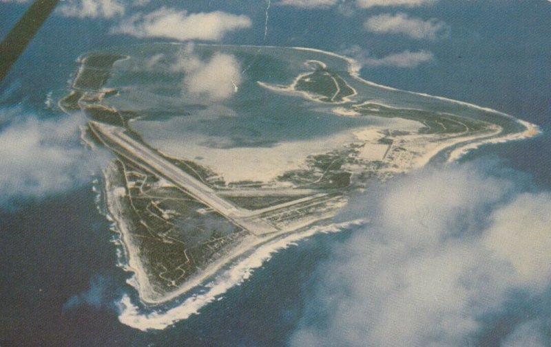 Aerial View of WAKE ISLAND, PU-1997