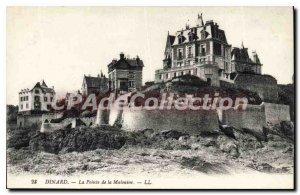 Old Postcard Dinard Pointe De La Malouine