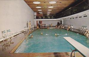MONTREAL, Quebec, Canada, 1940-1960's; Swimming Pool, Holiday Inn