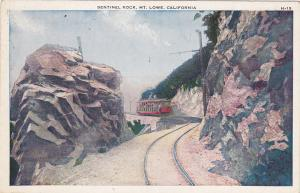 Sentinel Rock, Mt. Lowe, California, 00-10s