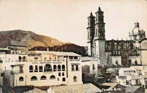 TAXCO GRO MEXICO~HOTEL MELENDEZ~PANORAMA REAL PHOTO POSTCARD
