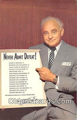 Las Vegas, NV, USA Never Admit Defeat