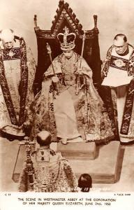 Queen is Crowned, Westminster Abbey, Coronation, Queen Elizabeth II 1953