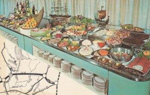 DANBURY , Conn. , 1950-60s ; Skandia Smorgasbord Restaurant