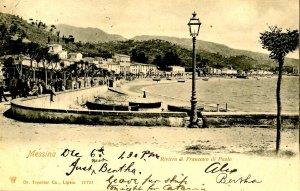 Italy - Messina. Riviera San Francesco di Paolo