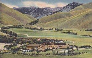 Summer Scene Sun Valley Idaho