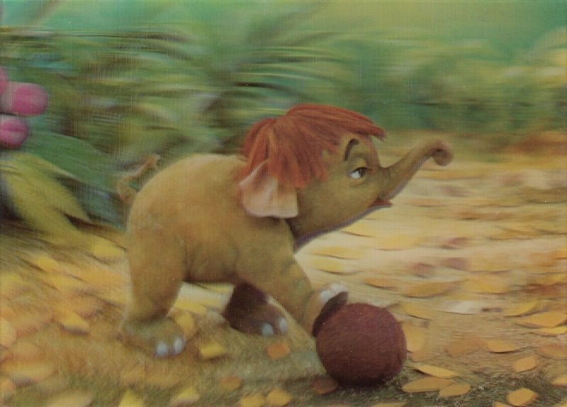 3-D ; Disney The Jungle Book, Baby Elephant Hathi Jr.,1970