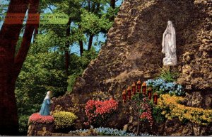Ohio Fremont The Grotto Our Lady Of The Pines 1952
