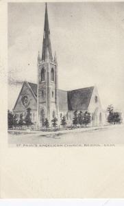 REGINA , Saskatchewan , Canada , 00-10s ; St Paul's Angelican Church