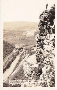 RP; CUMBERLAND, Maryland, 1930-40s; Lovers' Leap, Bridge