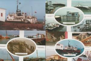 Southend On Sea Pier Damage Tate Gallery 4x Mint Disaster Essex Postcard s