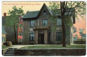 Roxbury, Mass, The Old Warren House