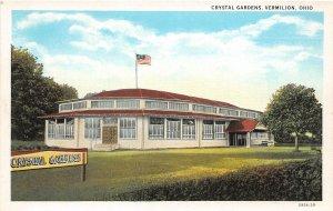 F66/ Vermilion Crystal Beach Park Ohio Postcard c1910 Gardens
