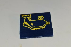 Tale of the Whale Chicago Illinois 30 Strike Matchbook
