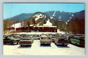 Cannon Mountain NH- New Hampshire, Aerial Tramway, Chrome Postcard