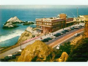 Vintage Post Card 398 Hotel Cliff House Seal Rocks San Francisco  CT   # 4698