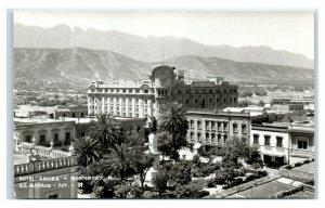 Postcard Hotel Ancira, Monterrey NL Mexico RPPC Y62