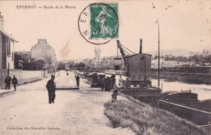 ÉPERNAY , France, PU-1908 ; Bords de la marne