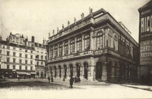 france, LYON, Le Grand Theatre (1920s) Theater