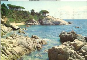 Spain, Playa de Aro, Costa Brava, 1960s used Postcard