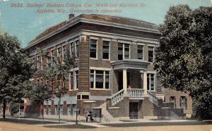 Appleton Wisconsin~Busheys' Business College~North & Morrison~Gymnasium~1913