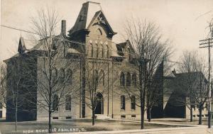 RPPC High School at Ashland, Ohio - pm 1908