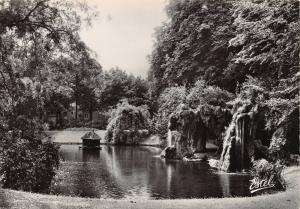 Vintage Real Photo Postcard LILLE, Vauban's Garden, France G98
