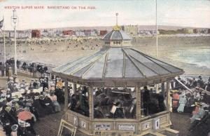 TUCK #4777; WESTON SUPER MARE, Somerset, England, UK, 1900-10s; Bandstand, Pier